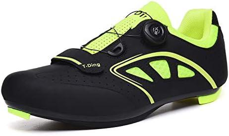 WWSUNNY Zapatillas de Bicicleta de Montaña,,Calzado de Bicicleta ...