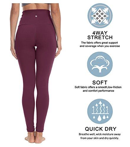 QUEENIEKE Women Yoga Leggings High Waist Running Pants Workout Tights 60129