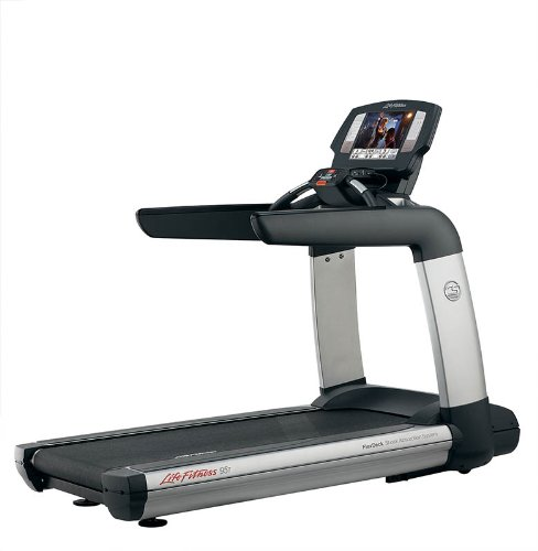 Life Fitness Platinum Club Series Treadmill with 15-Inch LCD Engage Console