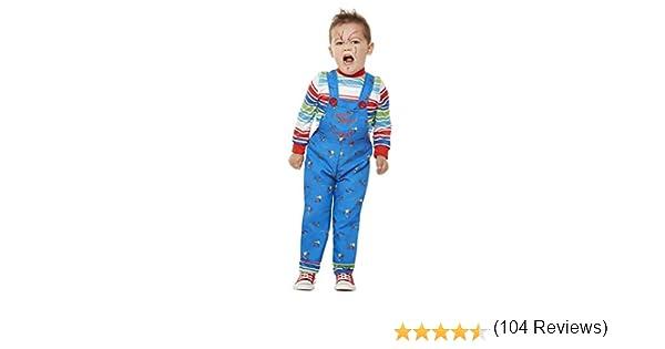 Smiffys 61027T1 - Disfraz de Chucky con licencia oficial, para ...