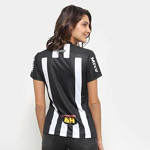 2e7f5c78d Camisa Atlético-mg I 2018 S n Torcedor Topper Feminina  Amazon.com.br   Amazon Moda