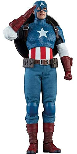 Sideshow Marvel Comics Captain America Steve Rogers 1/6 Scale 12