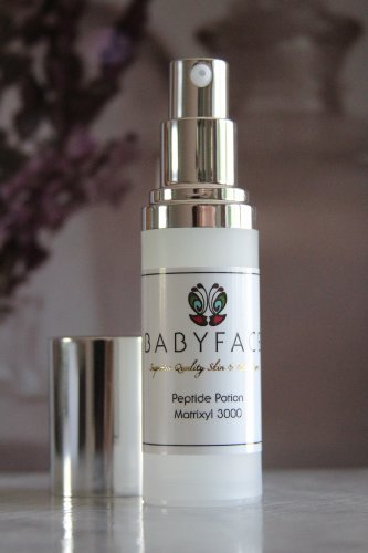 Babyface INSTANT FACELIFT Peptide Potion Concentrated Matrixyl 3000 Serum ~ Instant Firming Serum ~ Anti-Aging, Wrinkle Filler, Instant Tightening Effect