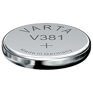 6 x Varta V381 SR1120SW SR55 1,55V Knopfzelle Silberoxid Uhren Batterien