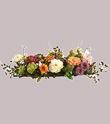 Mixed Peony Centerpiece Silk Flower Arrangement Beautiful Great For Dining Room Handmade