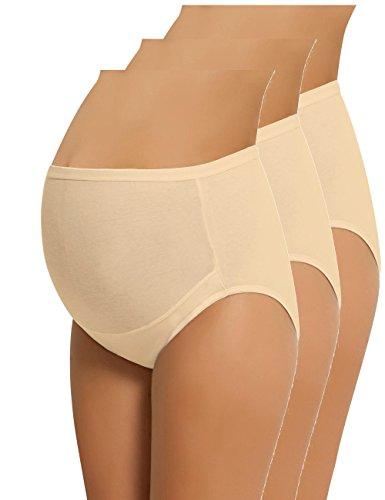 63e7f9240f NBB Lingerie NBB Women s Adjustable Maternity Panties High Cut Cotton Over  Bump Underwear Brief (X-Large