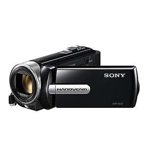 """Sony DCRSX22EB - Videocámara de definición estándar con Memory Stick  (pantalla de 2.7"""", zoom óptico 60 x, zoom digital 70 x, estabilizador de imagen), color negro"""