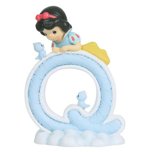 - Precious Moments, Disney Showcase Collection, Alphabet Letter Q, Resin Figurine, 114461