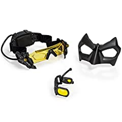 Evil is lurking in the shadows of Gotham City, but nothing can hide from the over watch of the Dark Knight! Now you can become the Caped Crusader with Spy Gear Batman Night Goggles! These Night Goggles will come in handy when you're chasing c...