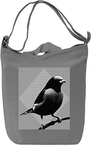 Graphic Bird Borsa Giornaliera Canvas Canvas Day Bag| 100% Premium Cotton Canvas| DTG Printing|