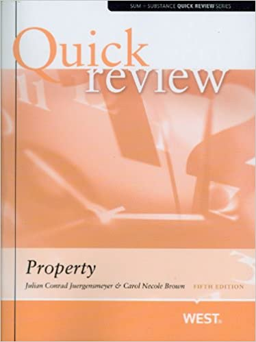Sum and Substance Quick Review on Property (Quick Review