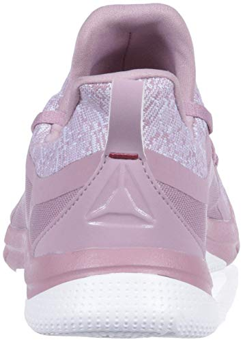 Reebok 0 Her Leather 3 lavender Print Lilac infused Knt Mujer wU1wv