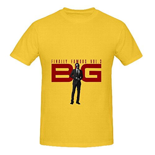 Big Sean Finally Famous, Vol Mens O Neck Graphic Shirts (Western Dress Up Ideas)