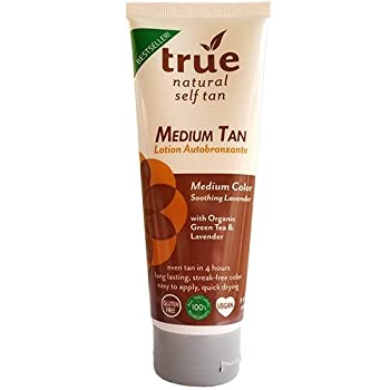 True Natural Organic Self Tanner