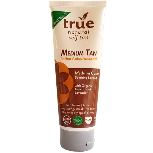 True Natural Organic Self Tanner, Light-Medium Tan 3.4 fl.oz.