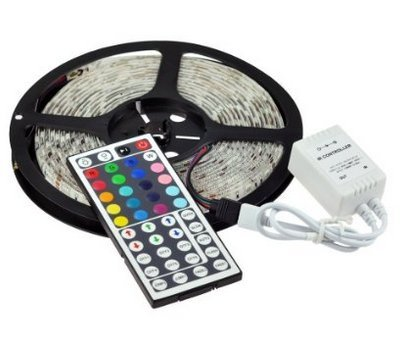 SoLed IP68 Waterproof RGB Color Changing Lights Strip 16.4ft 5050 SMD 300 Leds Submersible Underwater LED Flexible Strip Light