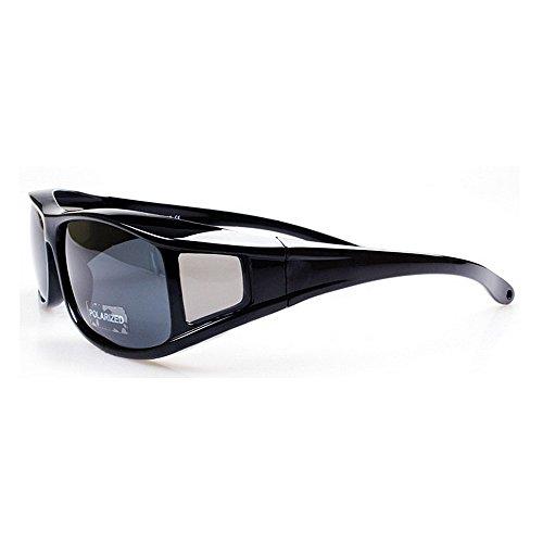 Arena De De Hombre Sol Equitación Miopizadas Gafas Pesca Deportivas de De Polarizadas Gafas Color Sol Negra De Gafas Arena Gafas Negra LBY para Sol Sw7R5q
