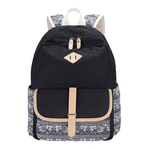 OPSUN - Bolso mochila  para mujer Taille Unique negro