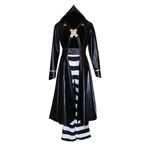 CosplayDiy Men's Suit for Anime JoJo's Bizarre Adventure Golden Wind Risotto Nero Cosplay Costume S]()
