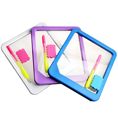 OVERMAL Acrylic LED Board Light Up Drawing Writing Special Puzzle Education Toy Gifts (Special Education Materials)