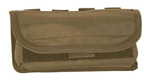 Round 20 Pouch Nylon (VooDoo Tactical 20-9302007000 20 Round Shooter's Pouch With Universal Straps On Back, Coyote)