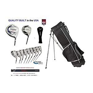 agxgolf-mens-xs-golf-club-set-choose-length-460ccc-graphite-driver-3-wood-3-9-irons-pwsw-putterstand-bag-right-hand