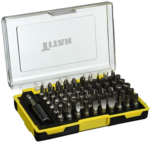 Titan Tools 16061 61-Piece Bit Set