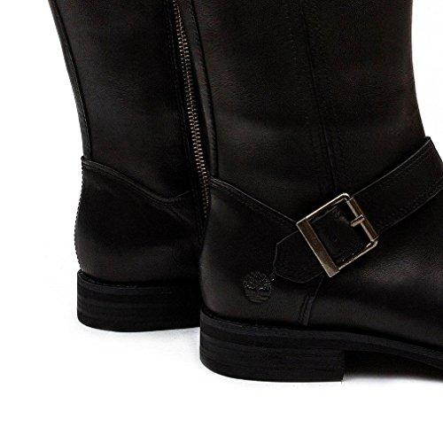 Timberland Hill Black Zip Savin Ladies Tall Boot rvn5rzqf