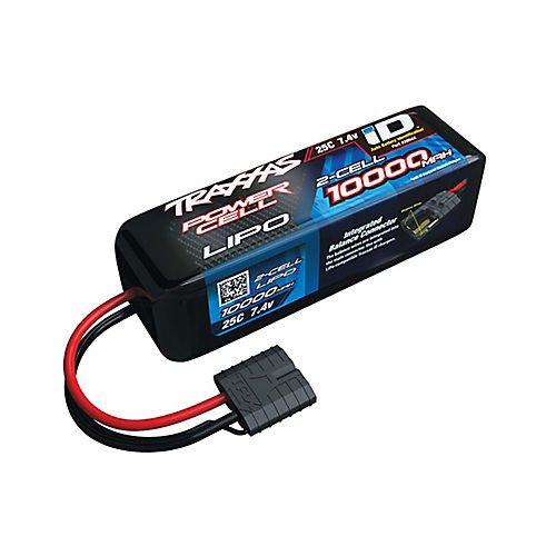 Traxxas TRA2854X LiPo Battery 25C 7.4V/Volt 10000mAh w/TRA ID: Slash 4x4 &