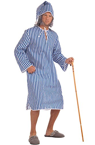 Forum Novelties Men s Plus Sized Scrooge Costume Nightshirt a37cb1966