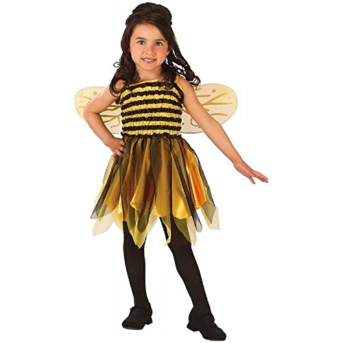 Makeup For Bumble Bee Costumes (Girls Bumble Bee Costume - Small Toddler)