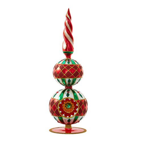 Christopher Radko Sensational Spire Finials Christmas Ornament