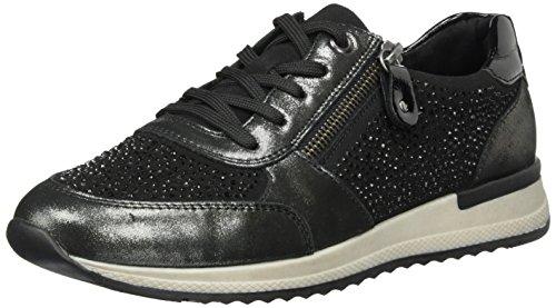 Remonte R7008, Zapatillas para Mujer Negro (Antracite/schwarz/schwarz / 02)