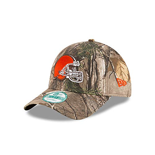 New Era Cleveland Browns The League Realtree Camo 9FORTY Adjustable Hat/Cap (Cleveland Browns Cap)