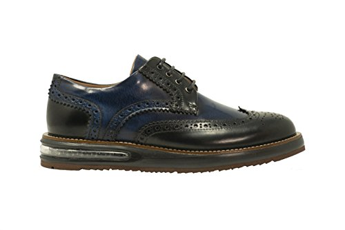 Barleycorn, Mannen Lace Up Brogues Blauw