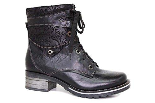 EU 40M Black Suede Top Dromedaris Womens Kara Boot