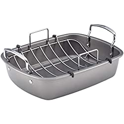 Nonstick Roasting Pan / Roaster with Rack