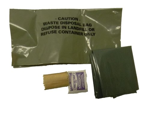 (The Go Anywhere Waste Kit Military WAG Bags (Pack of 12))