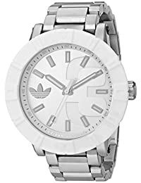 adidas Men's ADH3001 Amsterdam Silver-Tone Stainless Steel Watch