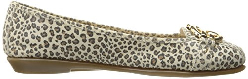 Aerosoles Frauen High Bet Ballett Flach Leopard-Kombination