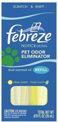 Febreze Noticeables, Pet Odor Eliminator, Refill, Clean and