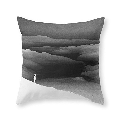 Society6 Solar Noise Isolation Series Throw Pillow Indoor Cover (20'' x 20'') with pillow insert by Society6