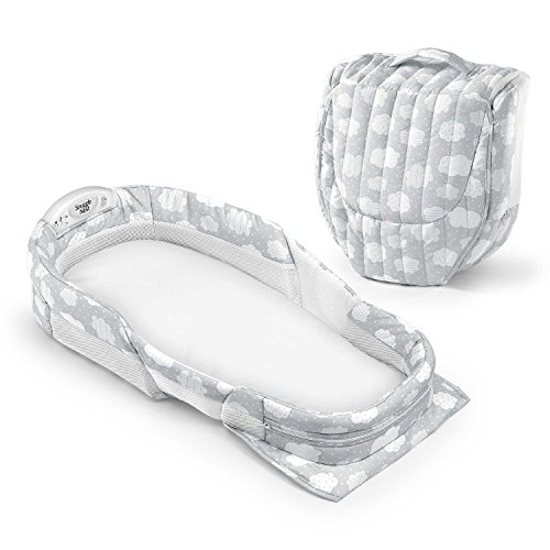 Big Save! Baby Delight Snuggle Nest Surround XL (Silver Cloud)
