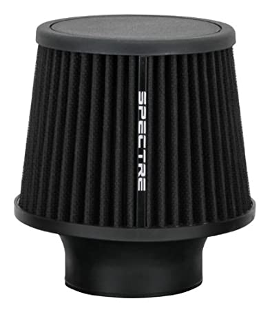 76 mm Flange ID; 6.5 in 152 mm Height; 6 in 121 mm Top 165 mm Spectre Performance 9131 Universal Clamp-On Air Filter: Round Tapered; 3 in Base; 4.75 in