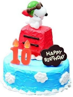 Superb Amazon Com Snoopy Peanuts Miniature Figure Toy Birthday Cake 1 Personalised Birthday Cards Paralily Jamesorg