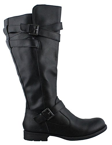 Black Boots Fashion Womens Knee O C High Round Toe Mays B vHwPUqazH