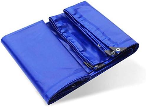 防水ヘビーデューティターポリン屋外防雨ターポリン厚い青色のシェード布PVCコーティングされたテープ車の貨物保護布、カーガーデンルーフカモフラージュテントの