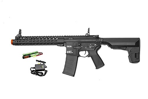 KWA VM4 RONIN 10 SBR Full Metal AEG 6mm Airsoft Rifle w/ Battery and Charger