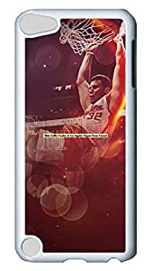 Creative GOOD For iPod Touch 5, iPod Touch 5 Case, Hot Sale Blake Griffin Protective Hard PC Plastic Case Cover for Apple iPod Touch 5 5th Generation White