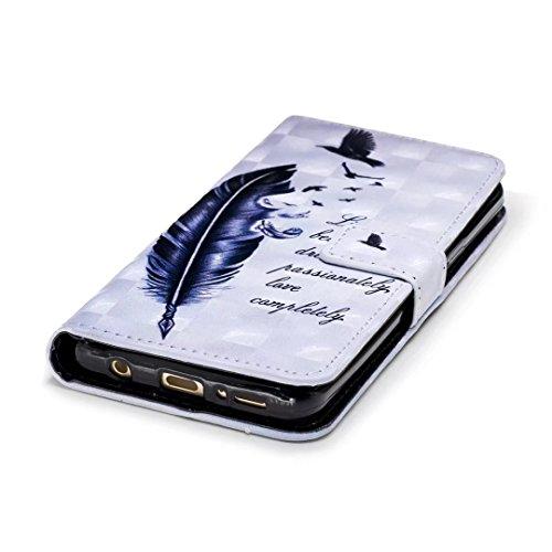 Samsung Galaxy S9móvil, cowx (piel sintética, para Samsung Galaxy S9Funda Case Cover Carcasa Wild Ganso
